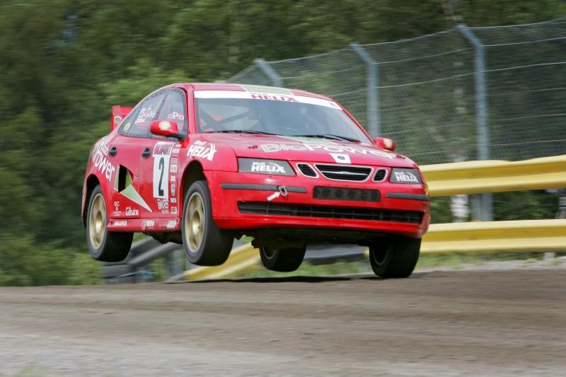 Per Eklund kör Rallycross